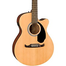 FA-135CE Concert Acoustic-Electric Guitar Level 2 Natural 190839623829