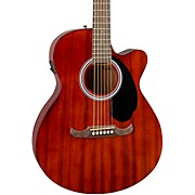FA-135CE Concert Acoustic-Electric Guitar Mahogany