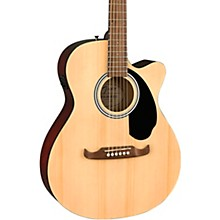 FA-135CE Concert Acoustic-Electric Guitar Natural