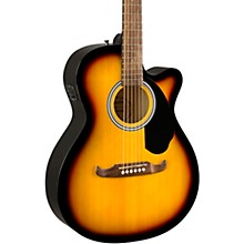 FA-135CE Concert Acoustic-Electric Guitar Sunburst
