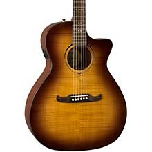FA-345CE Auditorium Acoustic-Electric Guitar 3-Tone Tea Burst