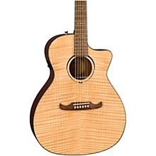 FA-345CE Auditorium Acoustic-Electric Guitar Natural