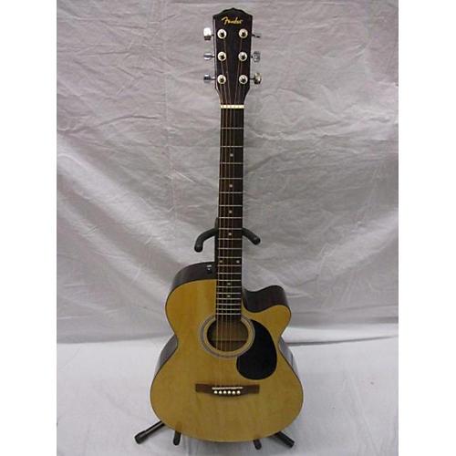 used fender fa135ce concert acoustic electric guitar natural guitar center. Black Bedroom Furniture Sets. Home Design Ideas