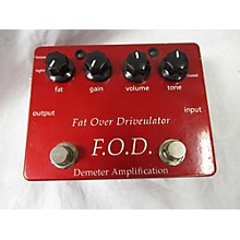 DEMETER FAT OVER DRIVEULATOR (FOD) Effect Pedal