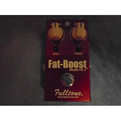 Fulltone FB2 Fat Boost Clean Booster Effect Pedal