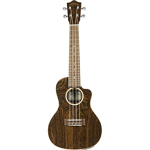 Lanikai FBCET-C Figured Bocote Thin Body Concert Acoustic-Electric Guitar