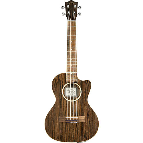 Lanikai FBCET-T Figured Bocote Thin Body Tenor Acousitc-Electric Ukulele