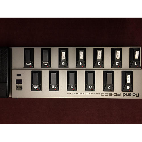 Used Roland Fc200 Midi Foot Controller Guitar Center