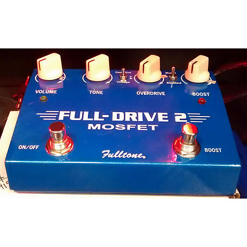 Fulltone FD2MOS Fulldrive 2 Mosfet Overdrive Blue Effect Pedal