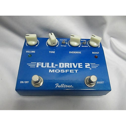 Fulltone FD2MOS Fulldrive 2 Mosfet Overdrive Effect Pedal