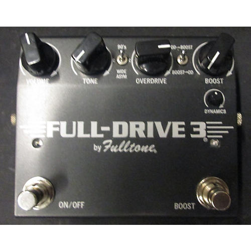 Fulltone FD2MOS Fulldrive 3 Mosfet Overdrive Effect Pedal