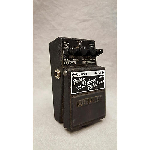 used boss fdr1 fender 65 deluxe reverb effect pedal guitar center. Black Bedroom Furniture Sets. Home Design Ideas