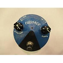 Dunlop FFM1 Silicon Fuzz Face Mini Blue Effect Pedal