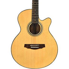 fretlight fg 5 acoustic electric guitar with built in lighted learning system guitar center. Black Bedroom Furniture Sets. Home Design Ideas