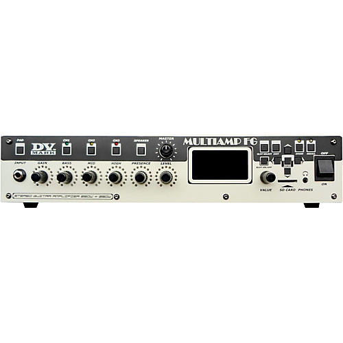 DV Mark FG Multiamp Frank Gamble Signature Guitar Head