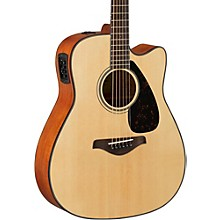 FG Series FGX800C Acoustic-Electric Guitar Natural