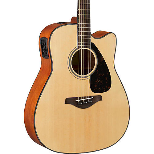 yamaha fg series fgx800c acoustic electric guitar guitar center. Black Bedroom Furniture Sets. Home Design Ideas