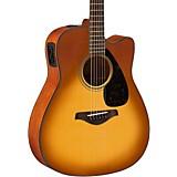 Yamaha FG Series FGX800C Acoustic-Electric Guitar Sand Burst