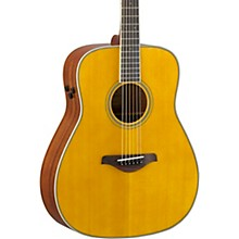 FG-TA TransAcoustic Dreadnought Acoustic-Electric Guitar Vintage Tint