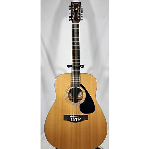 used yamaha fg412 12 12 string acoustic guitar natural guitar center. Black Bedroom Furniture Sets. Home Design Ideas