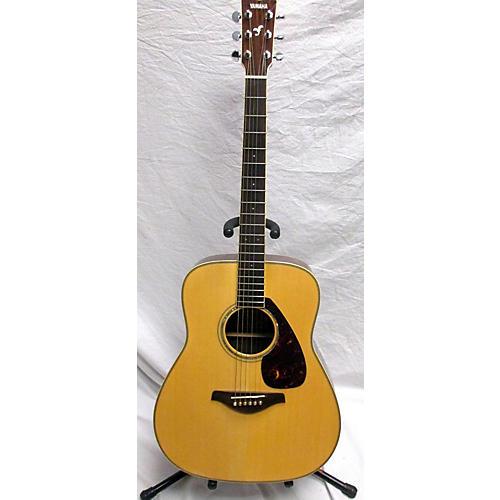 used yamaha fg730s acoustic guitar natural guitar center. Black Bedroom Furniture Sets. Home Design Ideas
