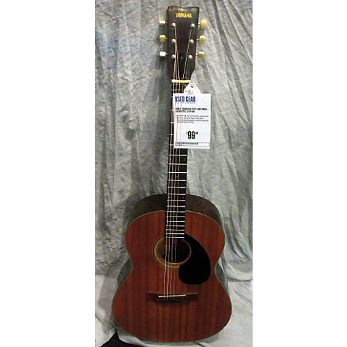 Yamaha FG75 Natural Acoustic Guitar