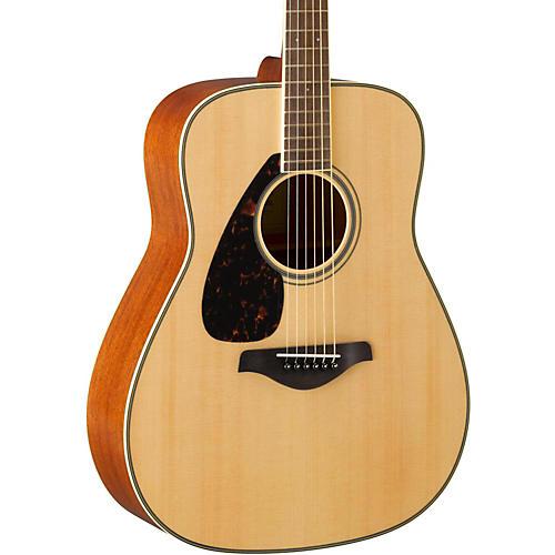 yamaha fg820l dreadnought left handed acoustic guitar natural guitar center. Black Bedroom Furniture Sets. Home Design Ideas