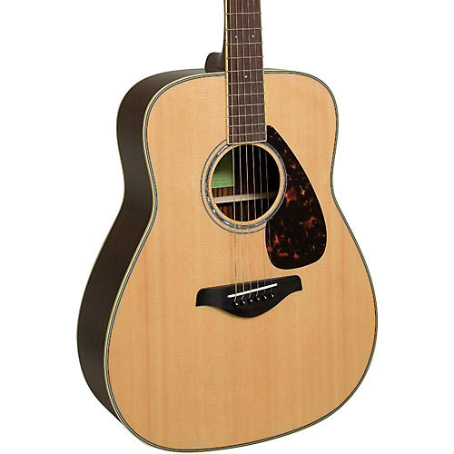 Yamaha fg830 dreadnought acoustic guitar guitar center for New yamaha acoustic guitars