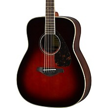 FG830 Dreadnought Acoustic Guitar Tobacco Sunburst