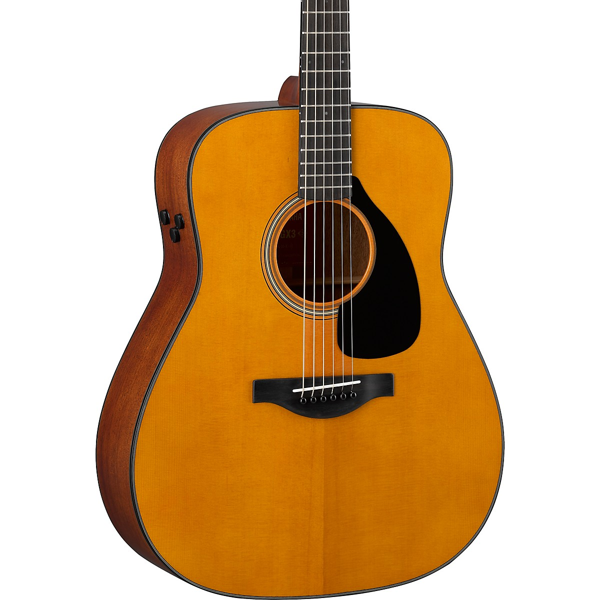 Yamaha FGX3 Red Label Dreadnought Acoustic-Electric Guitar