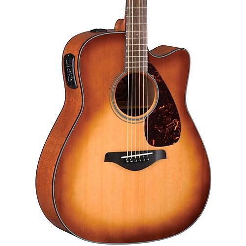 Yamaha FGX700SC Solid Top Cutaway Acoustic-Electric Guitar