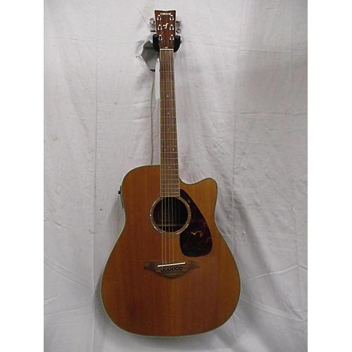 used yamaha fgx730sc acoustic electric guitar wood guitar center. Black Bedroom Furniture Sets. Home Design Ideas