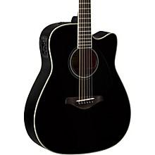 FGX820C Dreadnought Acoustic-Electric Guitar Black