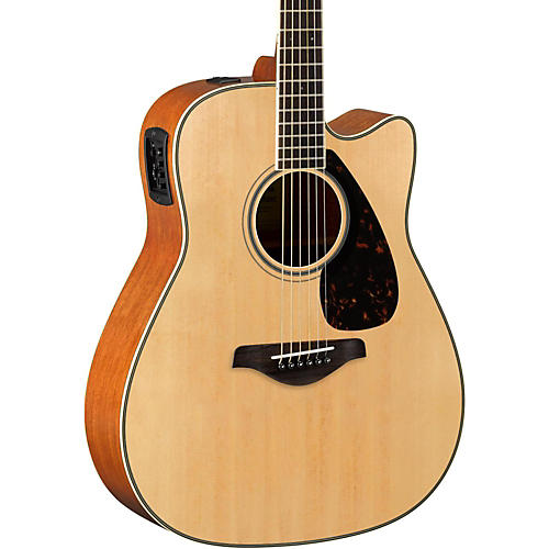 yamaha fgx820c dreadnought acoustic electric guitar natural guitar center. Black Bedroom Furniture Sets. Home Design Ideas