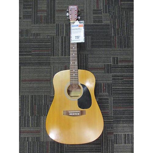 used flinthill fhg100 acoustic guitar guitar center. Black Bedroom Furniture Sets. Home Design Ideas