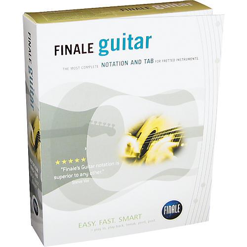 Finale FINALE Guitar Notation Software