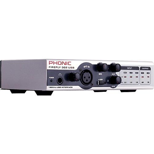 Phonic FIREFLY 302 USB Portable 5X6 USB Interface