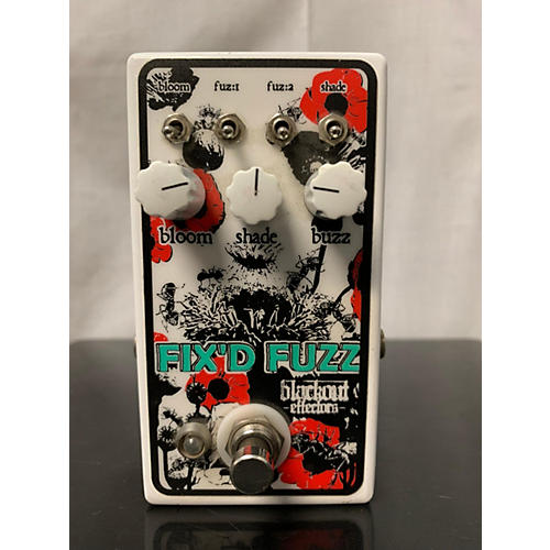 Blackout Effectors FIX'D FUZZ Effect Pedal