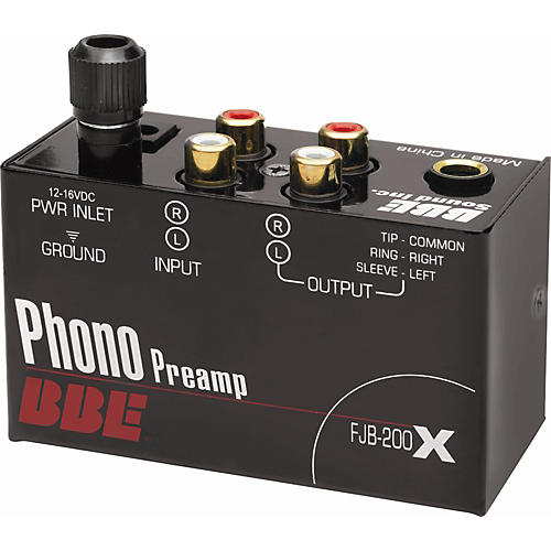 bbe fjb 200x phono preamp guitar center. Black Bedroom Furniture Sets. Home Design Ideas