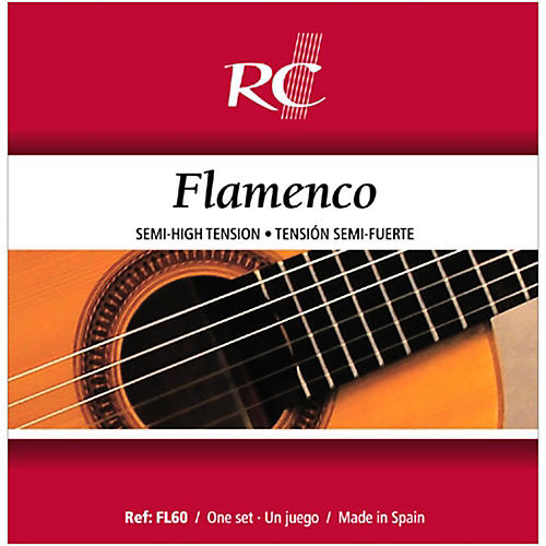 RC Strings FL60 Flamenco Semi-High Tension Nylon Guitar Strings