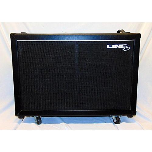 used line 6 flextone 2x12 guitar cabinet guitar center. Black Bedroom Furniture Sets. Home Design Ideas