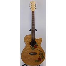 Luna Guitars FLORSE Acoustic Electric Guitar