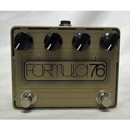SolidGoldFX FORMULA 76 Effect Pedal