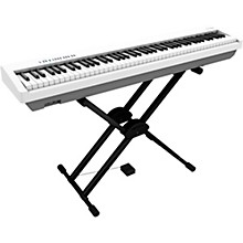 FP-30X Digital Piano with Roland Double Brace X-Stand and DP-2 Pedal White