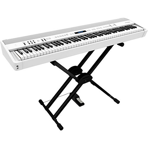 Roland FP-90X Digital Piano with Roland Double Brace X-Stand and DP-10 Pedal