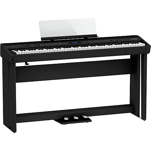Roland FP-90X Digital Piano with Stand and Pedal Board