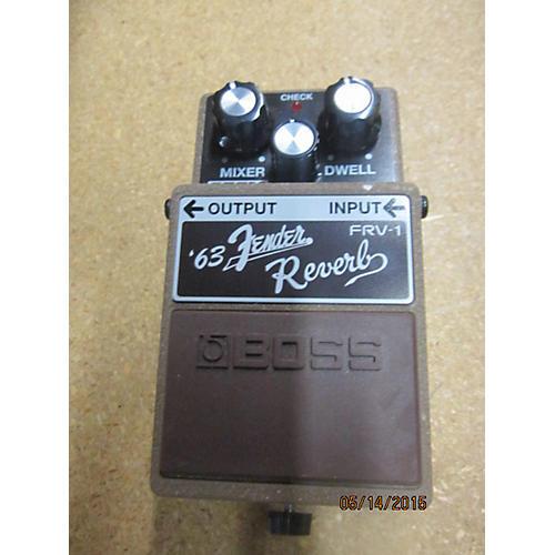 Boss FRV1 Fender 63 Reverb Effect Pedal