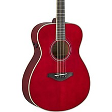 FS-TA TransAcoustic Concert Acoustic-Electric Guitar Ruby Red