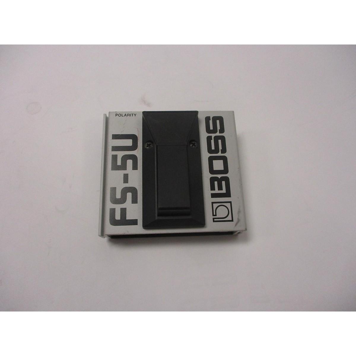 Boss FS5U Nonlatching Footswitch Sustain Pedal