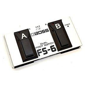 used boss fs6 dual footswitch sustain pedal guitar center. Black Bedroom Furniture Sets. Home Design Ideas